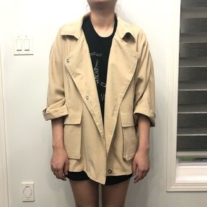 NWT Zara Basic Coat